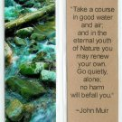 Nature-Stream Photography Bookmark