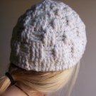 Basket-Weave Hat- Crochet PATTERN