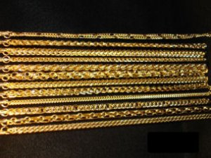 NEW WHOLESALE 24K GOLD PLATED NECKLACE SET