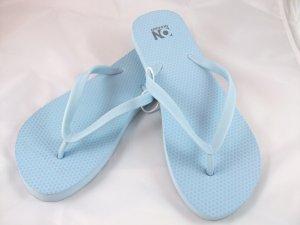 Women's Light Blue Flip Flops - Size 8