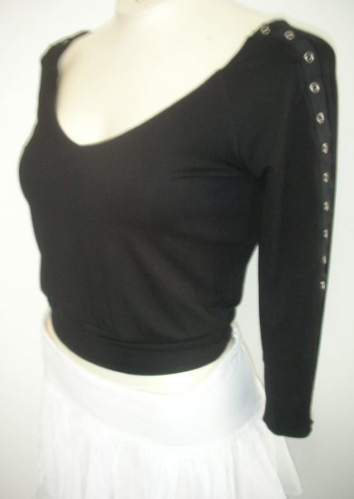 bebe - Black Fitted Shirt