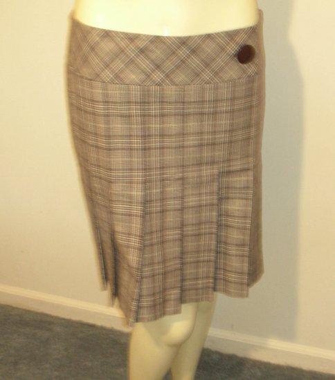 Ann Taylor Loft - Plaid Skirt (NWT)