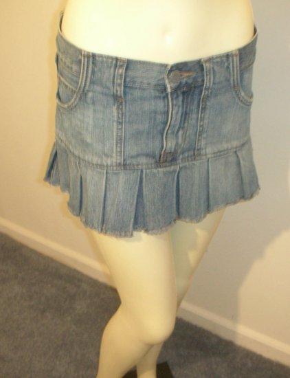 Abercrombie & Fitch Denim Skirt-Sz 2