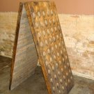 French Wine Riddling Rack - 120 bottles - Oak