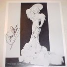 Vintage  Authentic Mae West Signed Photo