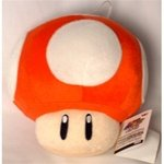 Super Mario Brothers Mushroom Red Medium Plush
