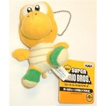 Super Mario Brothers Plush Keychain Koopa Troopa