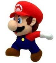 """Nintendo: Popco 6"""" Super Mario Plush Series 1 - Mario"""