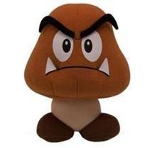 """Nintendo: Popco 6"""" Super Mario Plush Series 1 - Goomba"""