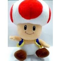 "Official Nintendo Japan 8"" Toad Plush"
