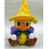 "Official 7"" Square Enix Final Fantasy Black Mage Chocobo Plush"