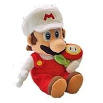 Official Nintendo Super Mario Galaxy Plush Doll: Fire Mario