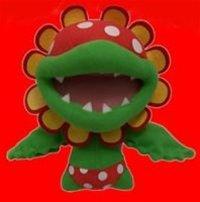 "Official Nintendo 6"" Super Mario Brother Plush Series 1 - Piranha Pete (made by Popco)"