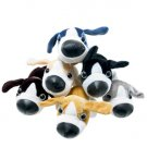 "Dozen (12) Cute 6"" Puppy Plush Toys"