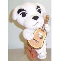 "Official Nintendo 6"" Animal Crossing KK Slider Plush Toy"
