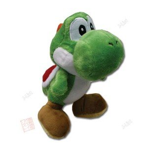"Official Nintendo 11"" Mario Party Yoshi Plush by Banpresto - Medium"