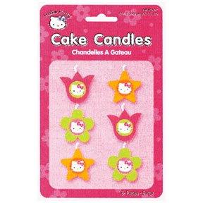 HELLO KITTY MINI MOLDED CANDLES (6CT.)