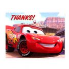 DISNEY CARS THANK YOU NOTE