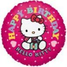 HELLO KITTY MYLAR BALLON (18IN.)