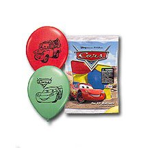 DISNEY'S CARS LATEX BALLOONS (6CT)