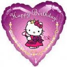 HELLO KITTY PRINCESS HEART 18IN. MYLAR B
