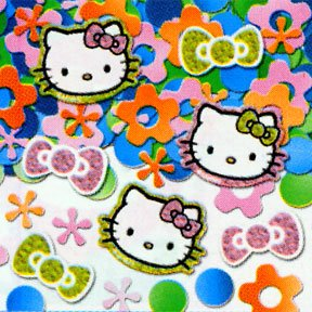 HELLO KITTY PRISMATIC CONFETTI (.5 OZ)