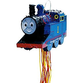 THOMAS THE TANK PULL PINATA