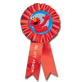 SESAME STREET GUEST OF HONOR RIBBON
