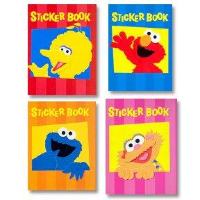 SESAME STREET STICKER BOOK
