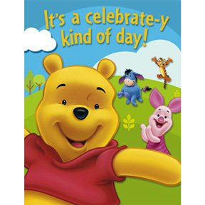 POOH & FRIENDS INVITATION
