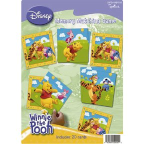 POOH & FRIENDS MEMORY GAME