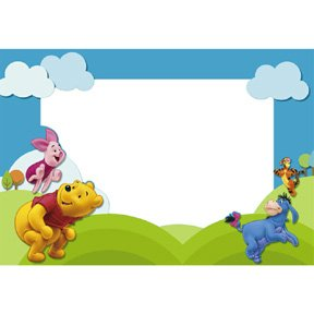 POOH & FRIENDS PHOTO HOLDER