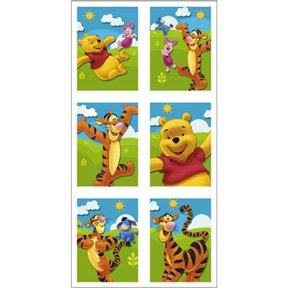 POOH & FRIENDS STICKER