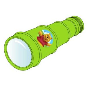 POOH & FRIENDS TELESCOPE