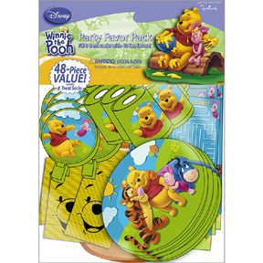 POOH & FRIENDS VALUE FAVOR PACK