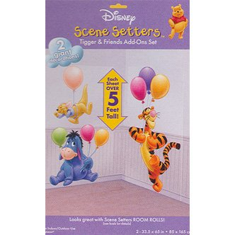 EYEORE TIGGER & ROO SCENE SETTER ADD ON