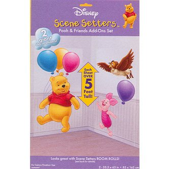 POOH PIGLET & OWL SCENE SETTER ADD ON