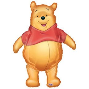 POOH AIRWALKER MYLAR 37INCHES