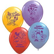 MICKEY & PALS PRINTED LATEX BALLOONS