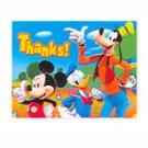 MICKEY'S CLUBHOUSE THANK YOU NOTE