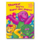 BARNEY THANK YOU NOTE