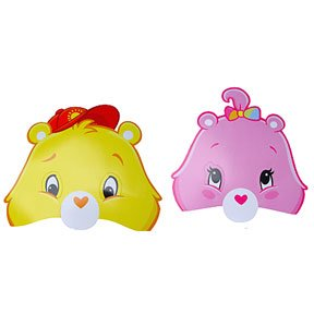 CARE BEARS HAPPY DAY MASKS