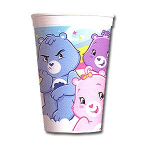 CARE BEARS HAPPY DAY SOUVENIR CUP(17OZ)
