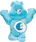 CARE BEAR BLUE JUMBO MYLAR BALLOON (30 IN)