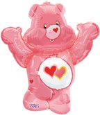 CARE BEAR PINK JUMBO MYLAR (30IN.)