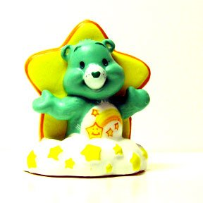 CARE BEAR STAR CANDLE