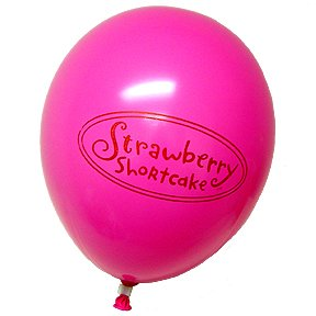 STRAWBERRY SHORTCAKE LATEX BALLOON