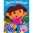 DORA & FRIENDS INVITE/THANK YOU COMBO