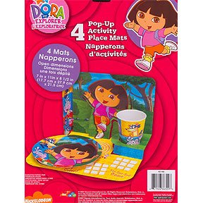DORA & FRIENDS POP UP PLACEMAT