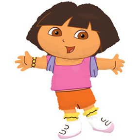 DORA FULL BODY MYLAR 26""